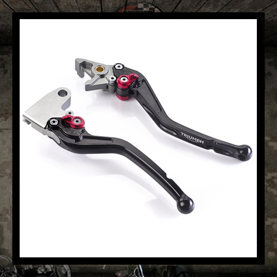 adjustable brake lever and clutch - new Triumph 2016 >