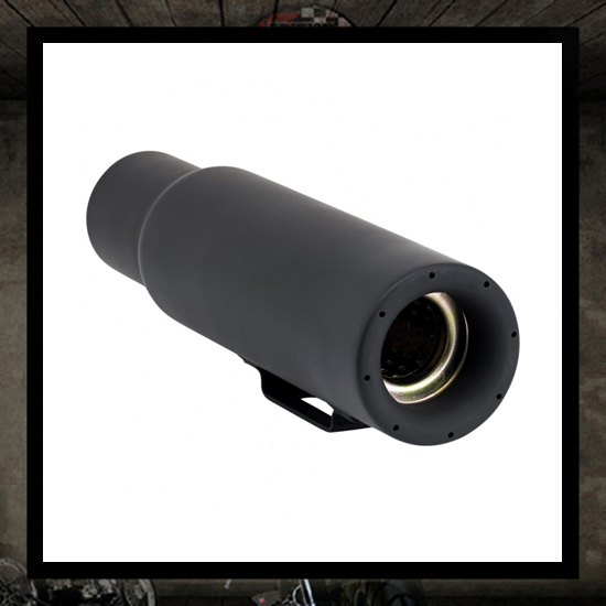 Mini muffler CANNON - black