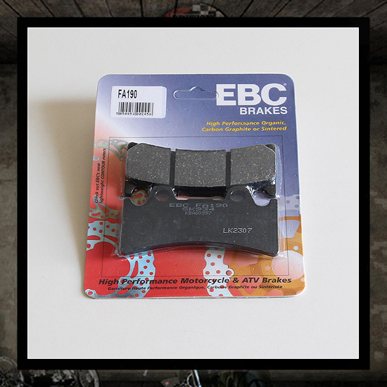 EBC front brake pads for Pretech Brake 6 P.