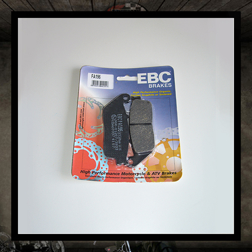 EBC front brake pads - Triumph (air cooled)