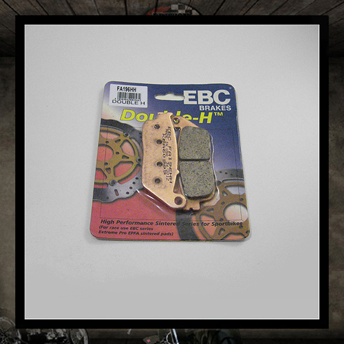 EBC sintered metal front brake pads