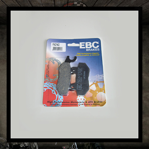 EBC rear brake pads - Triumph (air cooled)