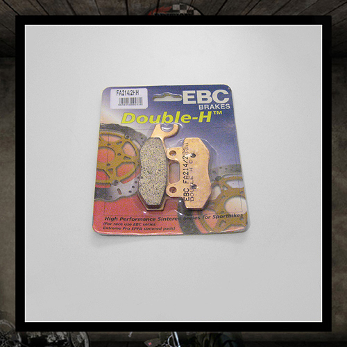 EBC sintered metal rear brake pads