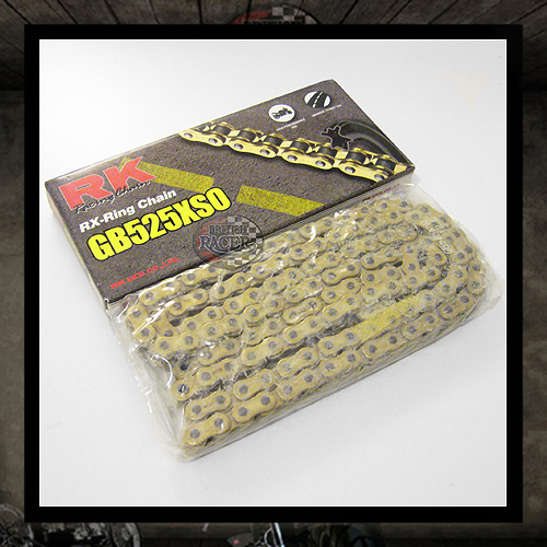 RK Racing Chain GB525XSO-120 Gold