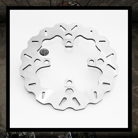 GALFER wawe rear brake disc - Thruxton/R (water cooled)