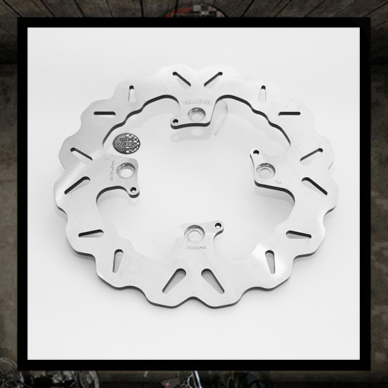 GALFER wawe rear brake disc - (water cooled)