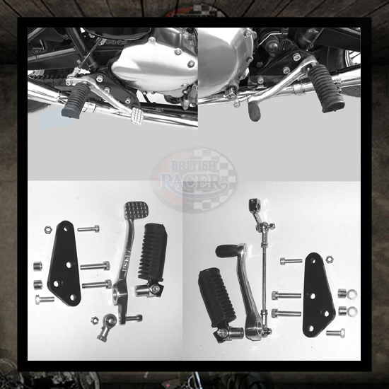 Triumph Bonneville footrest kit