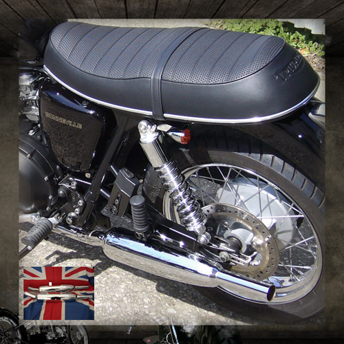 Toga exhausts Bonneville (air cooled)