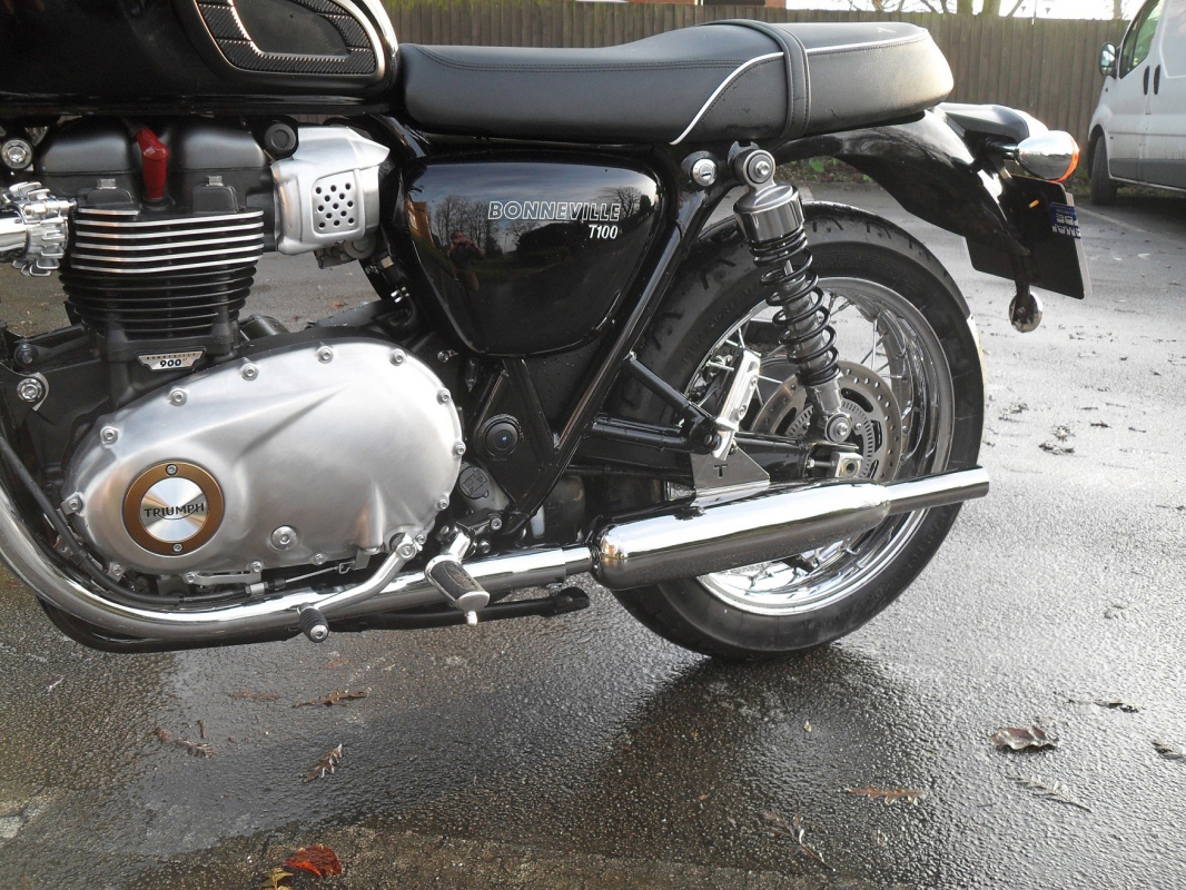 Toga exhausts Bonneville T120/T100 (water cooled)