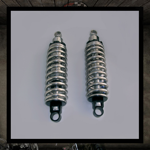 HAGON rear shocks chorme spring Bonneville Thruxton Scrambler