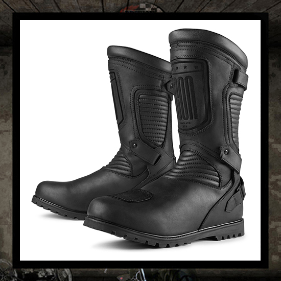 Icon 1000 PREP Boot - Black WATERPROOF