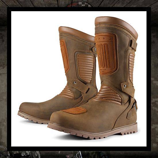 Icon 1000 PREP Boot - Brown WATERPROOF