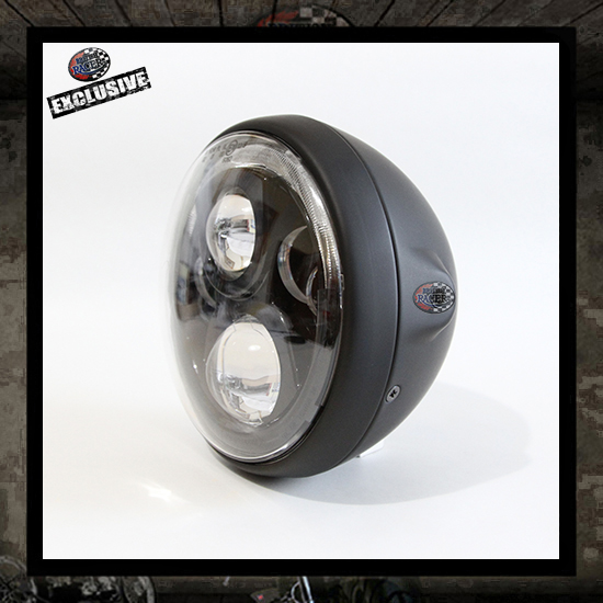 cyclops led headlamp E-approved - J.W.SPEAKER. - 7""