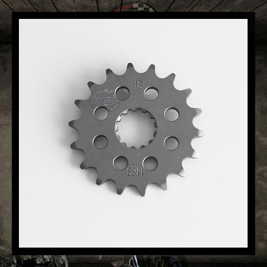 Front steel sprocket 17-18-19 - holes