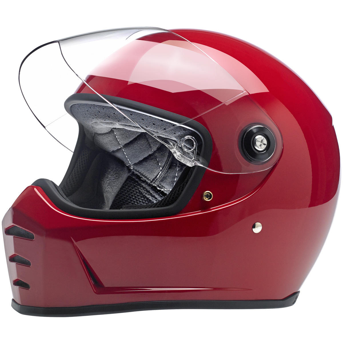 Lane Splitter helmet - gloss red