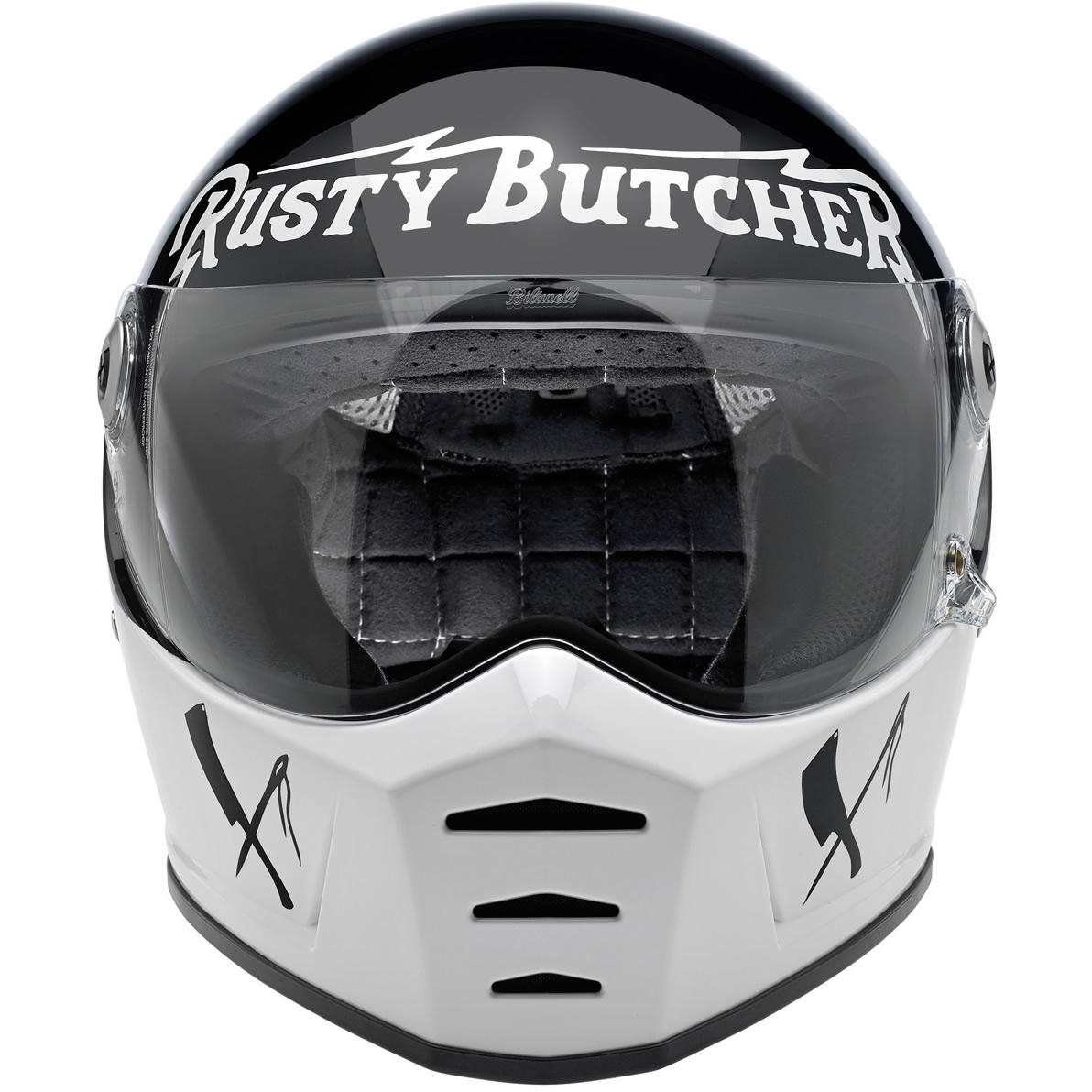 Lane Splitter helmet - Rusty Butcher