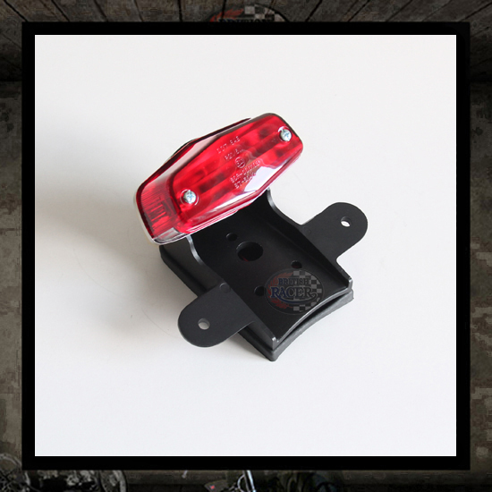 Lucas Trail Taillight Black E-marked