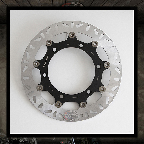 Floating front brake disc NEWFREN - Bonneville/Scrambler