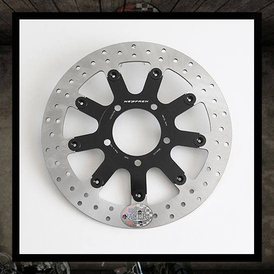 Floating front brake disc NEWFREN - Bonneville SE