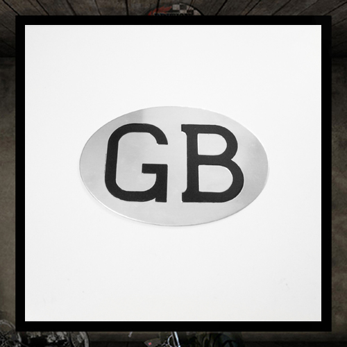 Oval GB Plate