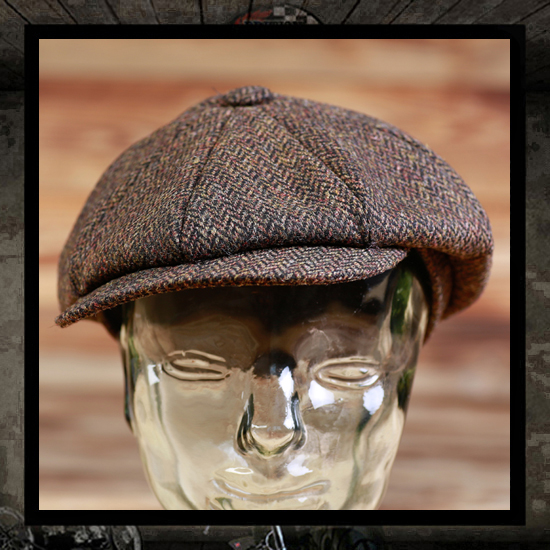 Pike Brothers 1928 Newboy Cap - Brown