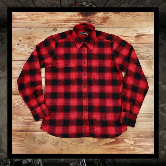 Pike Brothers 1937 Roamer Shirts - Red Black Check