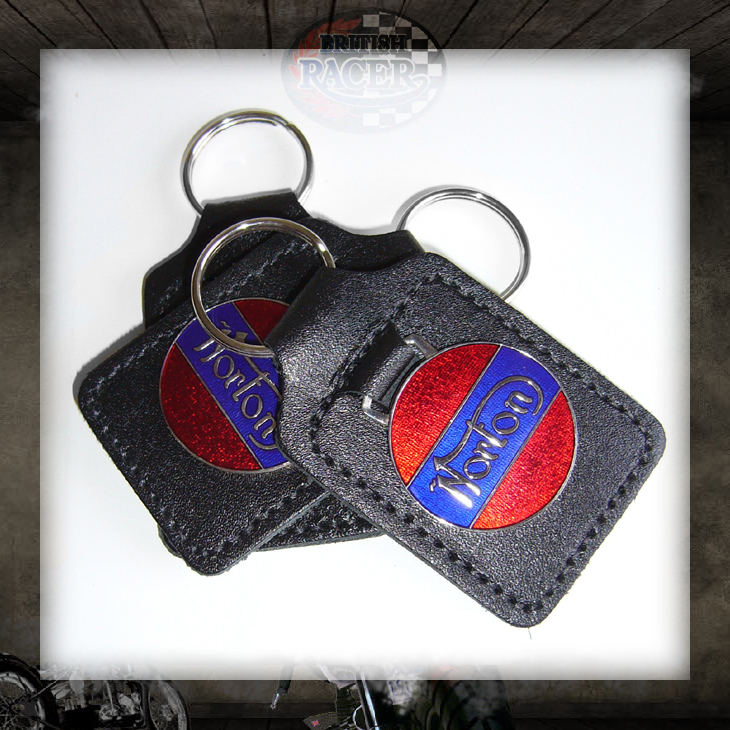 Norton key fob Union Jack