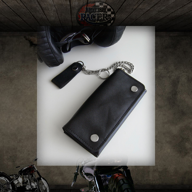 Biker wallet Real Leather