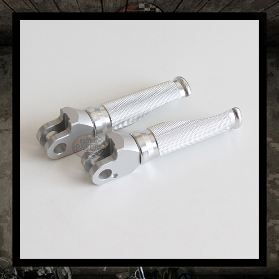 LSL Sport silver footpegs rear (air cooled)