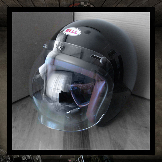 BELL RT - Clear Bubble visor