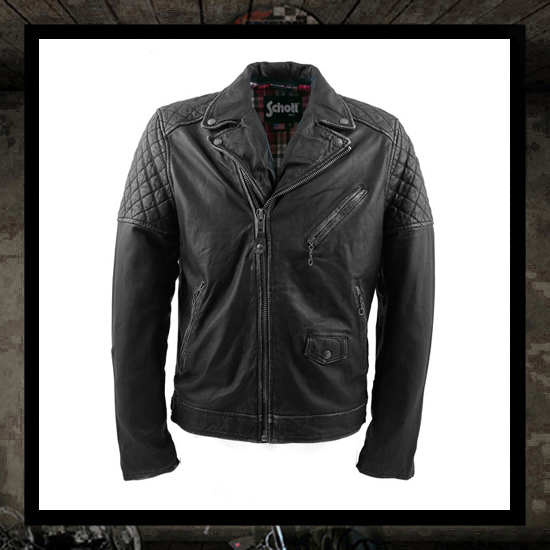 Schott N.Y.C. Classic Perfecto Leather Motorcycle jacket