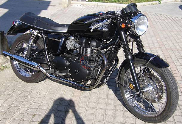 special classic seat black Triumph (air cooled)