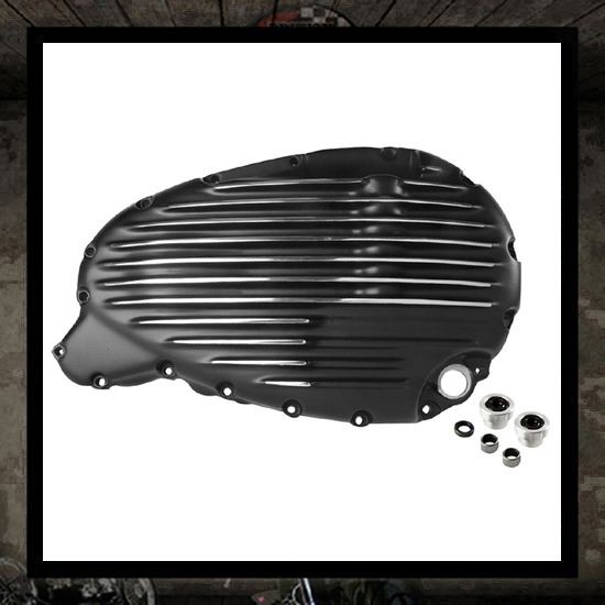 SM design Triumph clutch cover - black