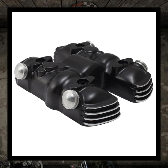 SM Design Triumph valve/cam cover - Black