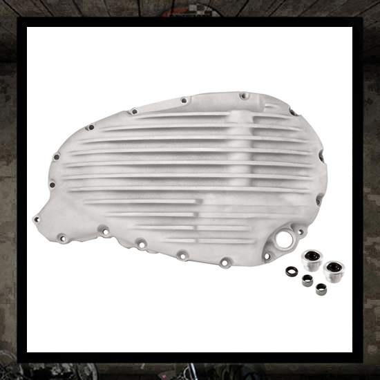 SM Design Triumph clutch cover - Raw