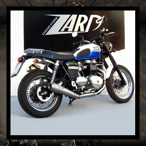 "Zard exhaust 2 into 1 ""Low Sport"" Scrambler"