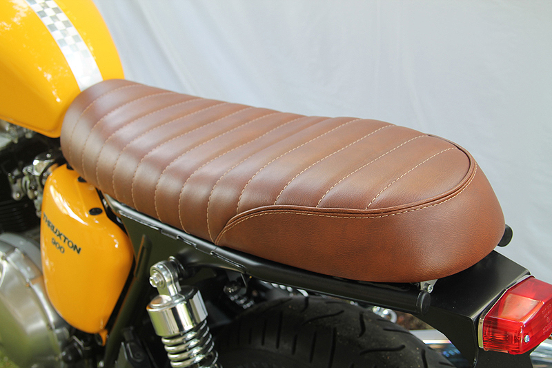 British Racer® Lux seat, two place.