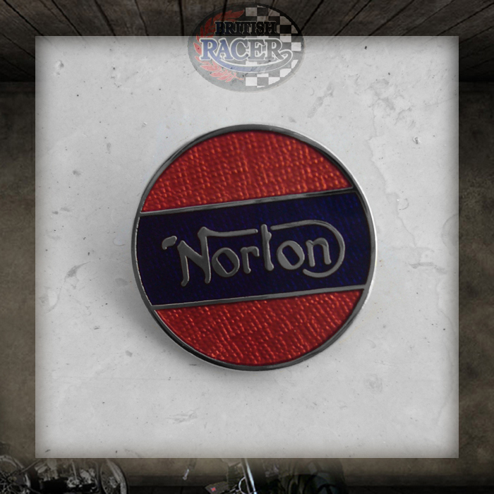 Pin badge Norton Union Jack
