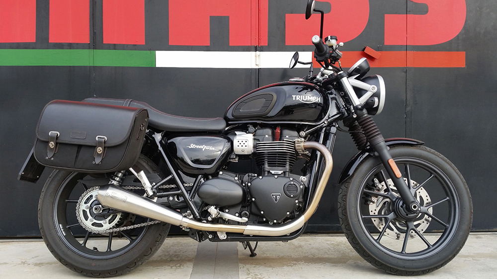 Mass silencers inox x Street Twin (water cooled)