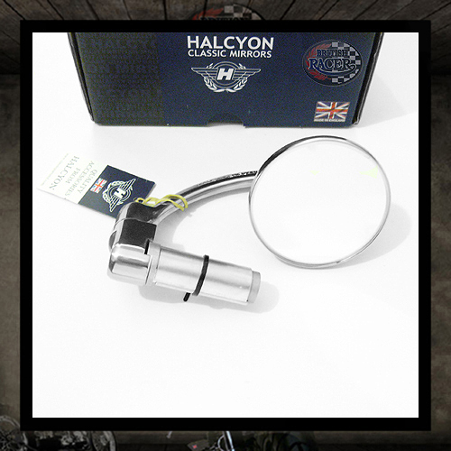 Halcyon Streetfighter Bar End Mirror