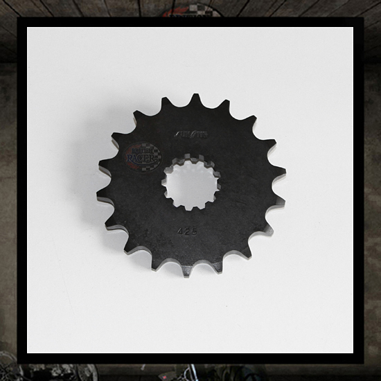 SunStar front steel sprocket 17T