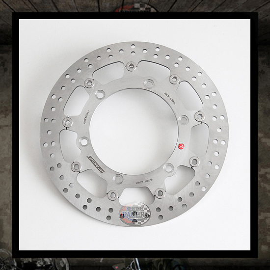floating front brake disc BRAKING - Triumph (air cooled)