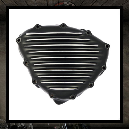 SM design Triumph stator cover - black