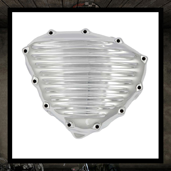 SM design Triumph stator cover - polished