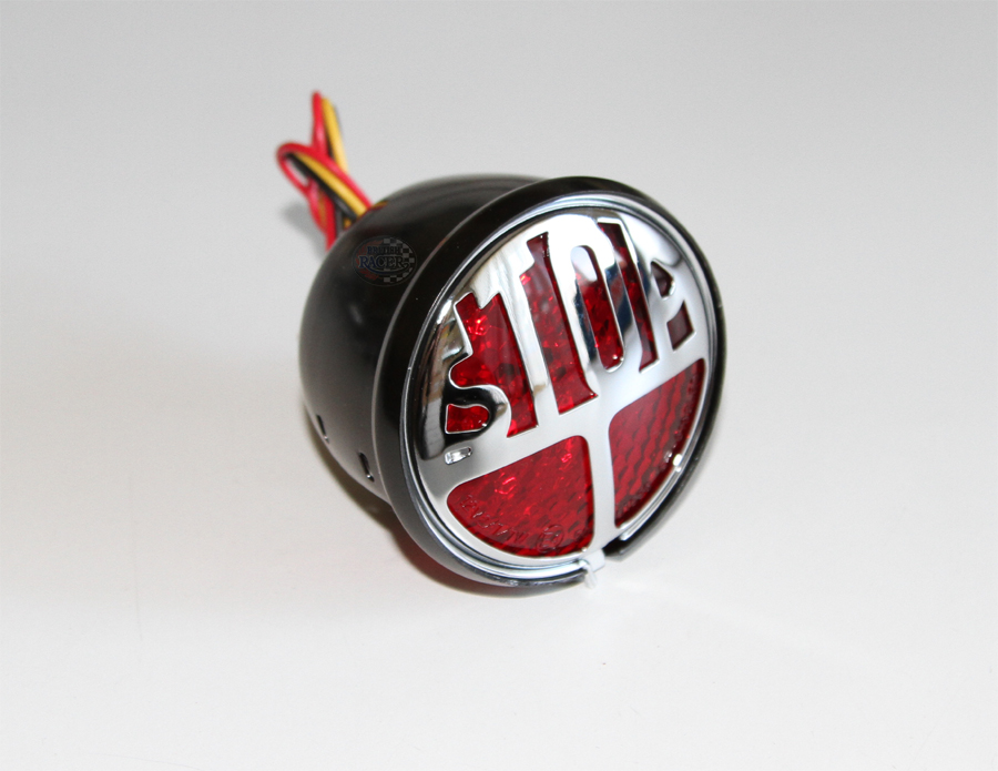 Mini Miller LED Taillight E-Marked