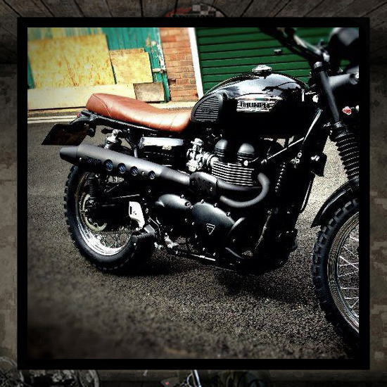 "Zard 2 into 1 ""Black High"" Bonneville-Thruxton-Scrambler"
