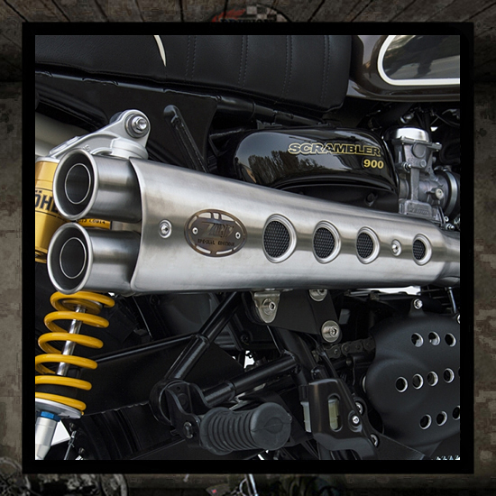 "Zard exhaust 2 into 1 ""Special Edition"" EFI"