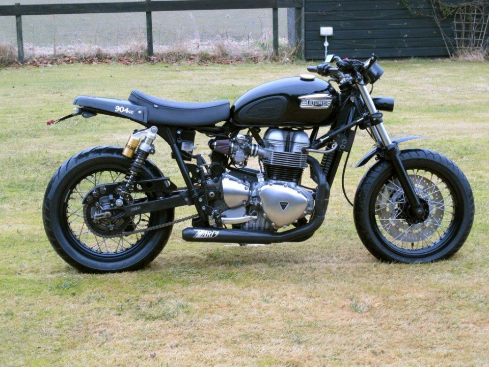 Zard exhaust 2 into 1 Cross - Triumph (air cooled) [ZTPH 034 SKC