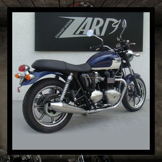 """Racing"" Zard Exhaust Bonneville SE"