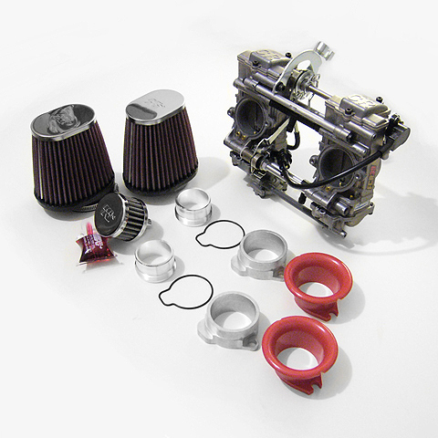 Triumph KEIHIN FCR 39 mm Performance kit